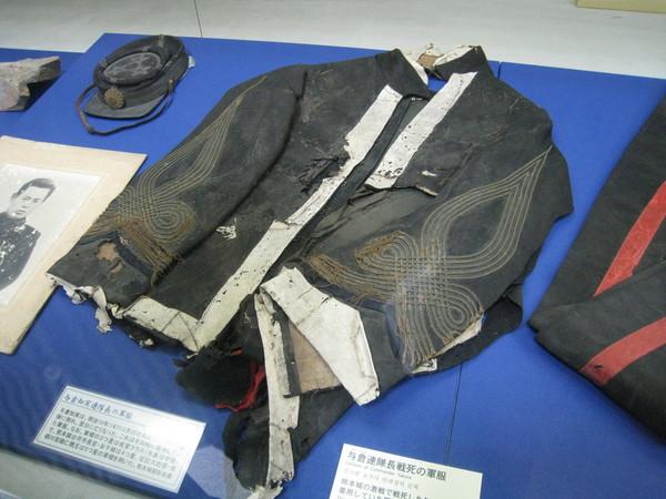 某位戰死軍官的服飾遺物