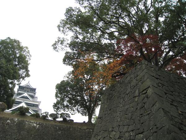 出城前天色已有點暗,還是要拍個城牆紀念