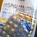 藥罐子大白拿了三大包藥回家,這只是其中一包。因為忘了帶健保卡,這一趟就花了八千多日圓