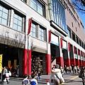 今天出門的主要目的是去鬧區的日航旅館吃壽司