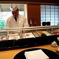 因為太過優雅安靜,我拍照前還先取得壽司師傅同意