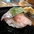 每個壽司都很漂亮,出菜速度也剛剛好