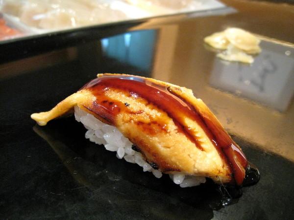 「穴子」,中文名稱應該是星鰻吧