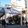 熊本的鬧區充滿這類「牌樓」,頗有風味