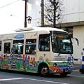 超可愛的熊本遊城巴士