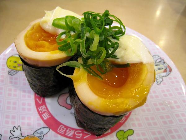 溫泉蛋很好吃,所以大白又加點一份