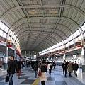 我喜歡品川車站長廊的設計,很開闊明亮
