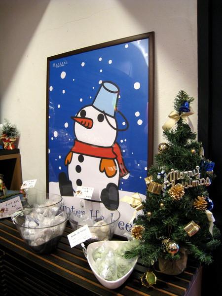 我喜歡這張可愛的雪人圖