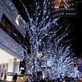 六本木Hills的銀白色夜晚,已成東京遊客不能錯過的冬季景點