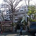 築地市場旁的另一家神社