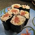 近年來吃過最醜的鮪魚壽司卷