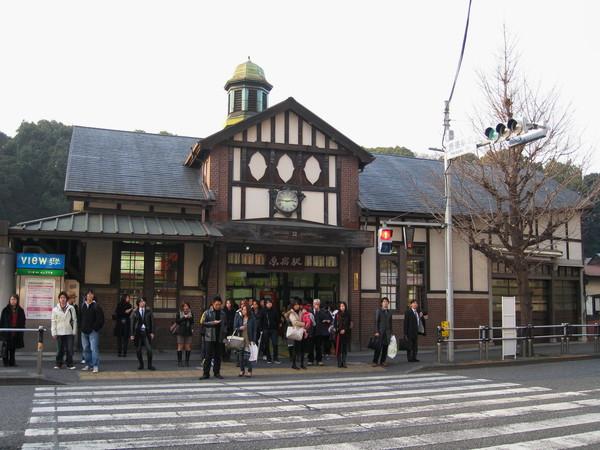 原宿車站,我很喜歡它古樸的造型