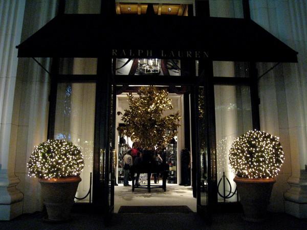 Ralph Lauren的店門