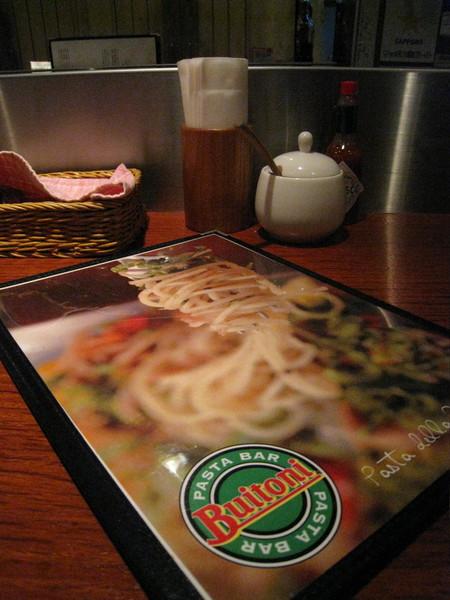這家Buitoni Pasta Bar晚餐時間總高朋滿座,並非因為提供絕頂美味