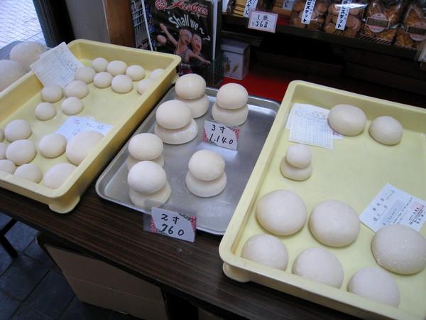 龜澤堂賣的手工日式麻糬,用來製作鏡餅
