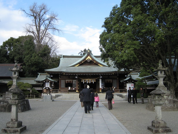 出水神社位於成趣園內,明治11年,由仰慕細川家的眾藩士創建