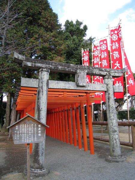 出水神社旁還有個很迷你的「稻荷神社」