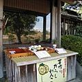 我在熊本市區嚐過辛子蓮根,不是很習慣芥末的嗆辣口味