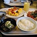 1/27週日早晨,到飯店吃豐盛的日式自助早餐