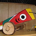 熊本縣人吉、球磨地區的木製傳統玩具「 きじ馬」