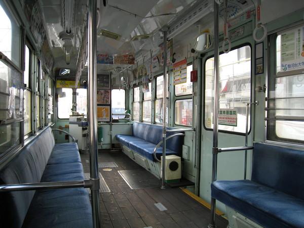 剛上電車時空蕩蕩的
