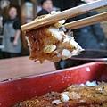 鰻魚很香很嫩,幾乎沒有我平日害怕的魚腥味