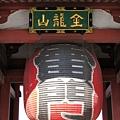 淺草寺全名為「金龍山淺草寺」,雷門的正式名稱為「風雷神門」,左風神像,右雷神像