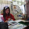 大概是觀光客太多,售票小姐習慣用計算機按出金額