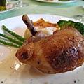 雞肉和豬腳的組合很有巧思,這是我第二次點這道,上次是半年前了