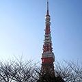 東京鐵塔立刻映入眼簾