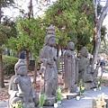 寺院內的四菩薩像