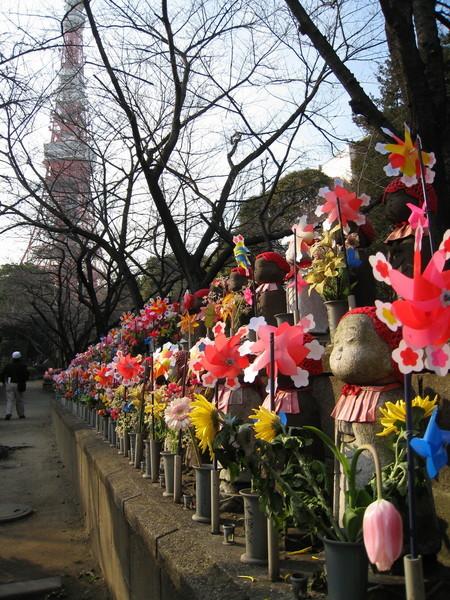 有東京鐵塔和增上寺陪伴,應該不會寂寞吧
