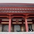 雄偉的增上寺大殿,是戰火後重建的成果
