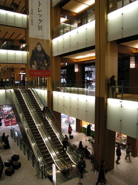 2/23,週六傍晚決定散步到六本木的Tokyo Midtown吃晚餐