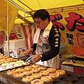 我沒吃過豚玉燒,上網查過後才知是大阪燒的一種