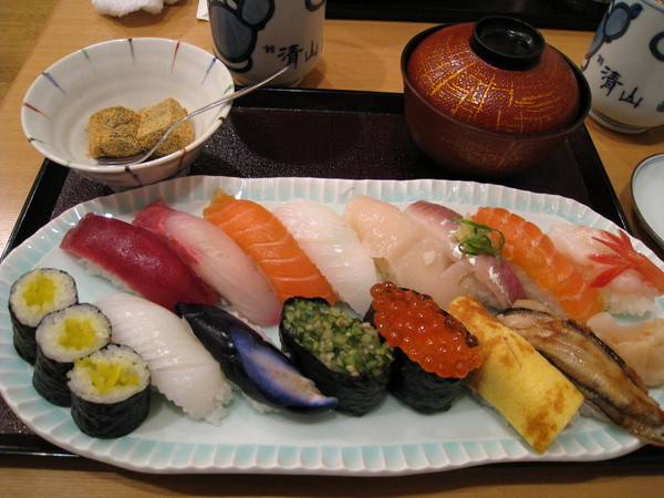 我點的1500日圓午間套餐