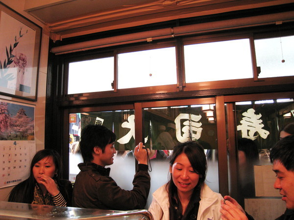 和上次去的「大和壽司」相反,「壽司大」很歡迎拍照