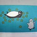 Suica企鵝明信片之五:賞花