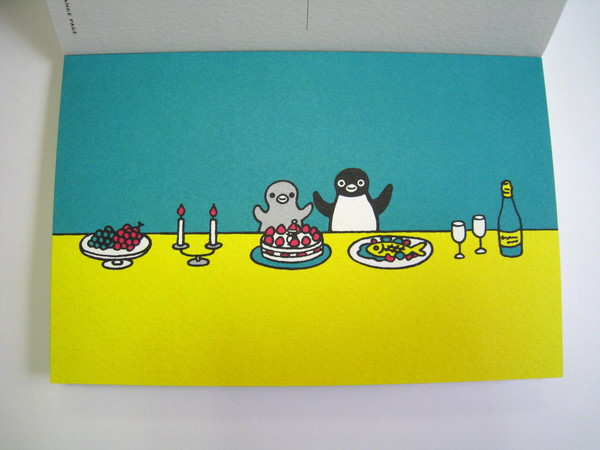 Suica企鵝明信片之十九:生日大餐