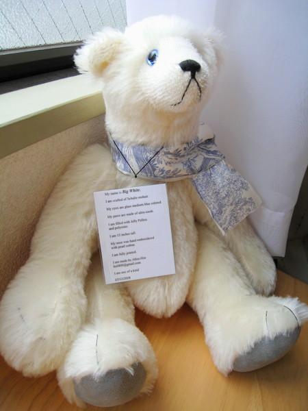 書書做的小熊,每隻都有自己的身份證