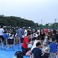 有些日本人超專業,連全套桌椅都自備