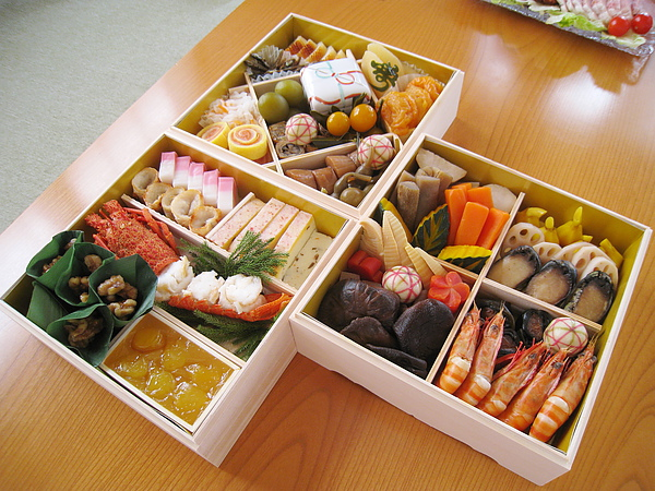 三層合照。別看它們這麼美,全都是讓台灣媳婦胃寒的冷菜啊