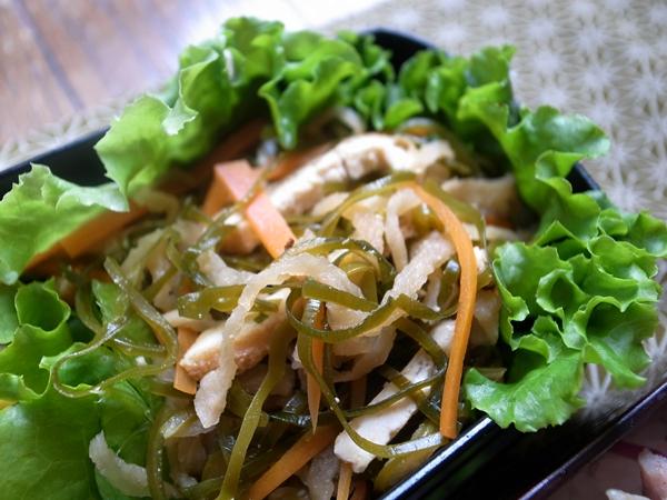 切干大根胡蘿蔔油豆腐昆布煮物