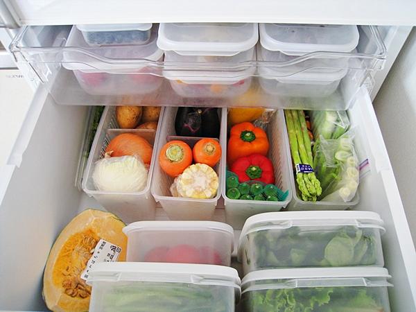 冰箱蔬果室收納