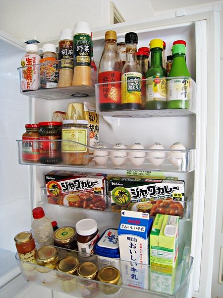 冰箱門置物架收納
