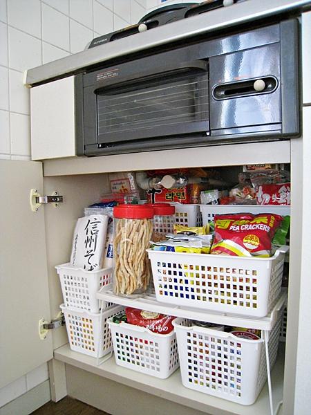 食物櫃收納
