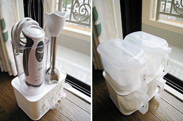 塑膠袋抽取盒/調味料罐收納盒