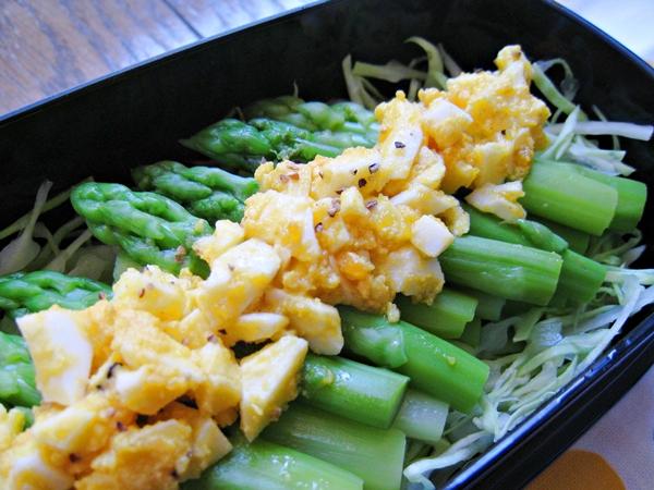 半熟蛋蘆筍沙拉