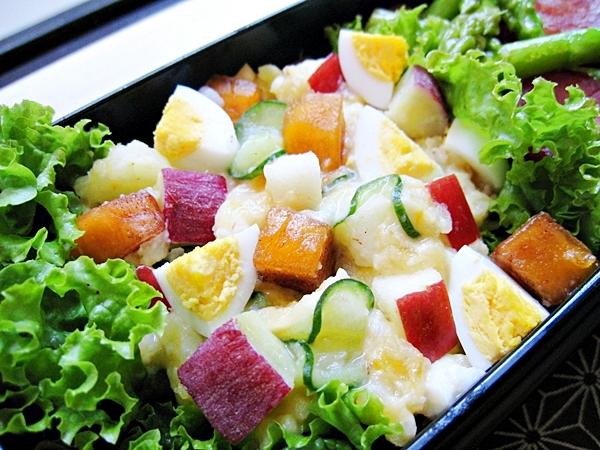 甜柿蘋果甘藷洋芋蛋沙拉