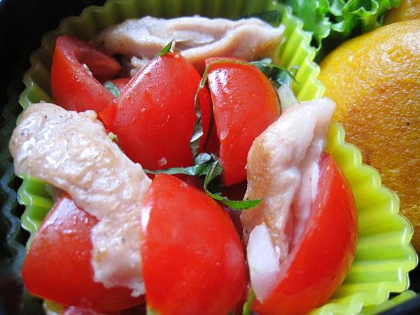 紫蘇番茄雞肉沙拉